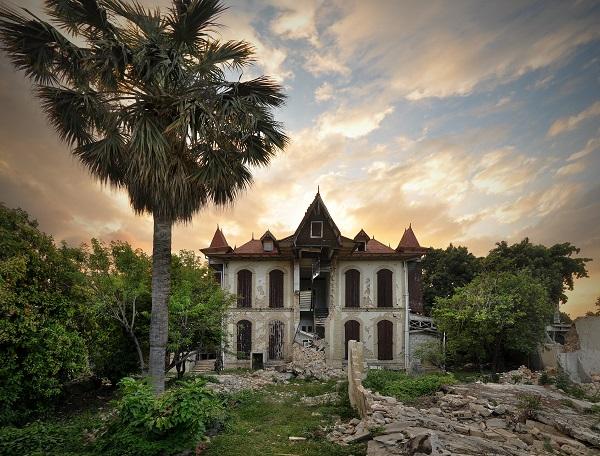 Haiti Gingerbread Villa Castel Fleuri east elevation 2010